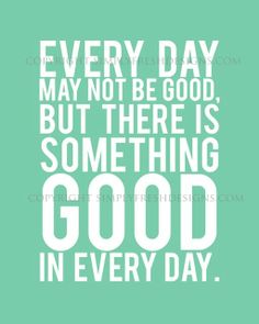 everydayisgood